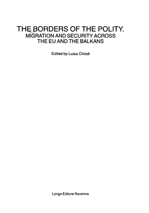 The Borders of the Polity PDF
