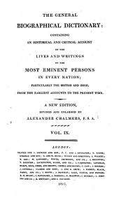 The General Biographical Dictionary Containing an Historical and Critical Account of the Lives and Writings of the Most Eminent Persons; ... a New Ed. by Alex. Chalmers. - London, J. Nichols 1812-1817