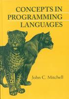 Concepts in Programming Languages PDF