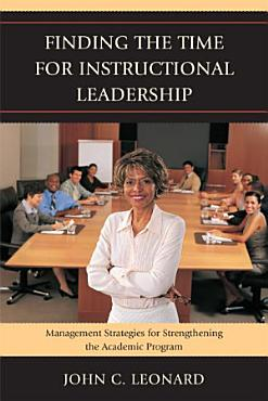 Finding the Time for Instructional Leadership PDF