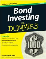 Bond Investing For Dummies PDF
