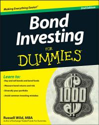 Bond Investing For Dummies Book PDF