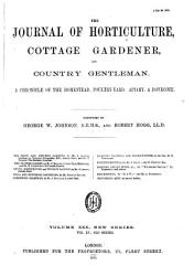 Journal of Horticulture  Cottage Gardener and Country Gentlemen PDF
