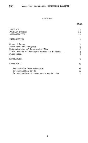 Radiation Standards  Including Fallout PDF