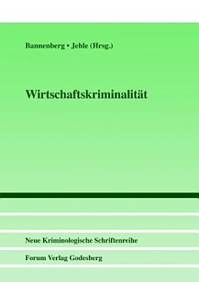 Wirtschaftskriminalit  t PDF