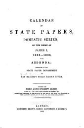 Calendar of State Papers: Of the Reign of Charles I, 1625-[1649]. Domestic series