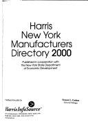 Harris New York Manufacturers Directory