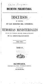 Documentos parlamentarios: 1852-1853