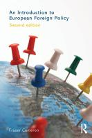 An Introduction to European Foreign Policy PDF