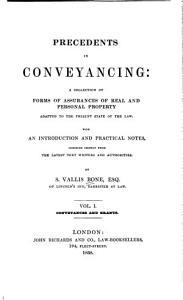 Precedents in Conveyancing Book
