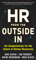 HR from the Outside In  Six Competencies for the Future of Human Resources PDF