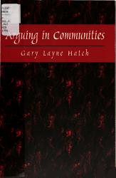 Arguing in Communities PDF