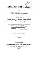 Ringan Gilhaize  Or  The Covenanters PDF