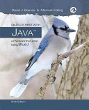 Objects First With Java A Practical Introduction Using Bluej Global Edition