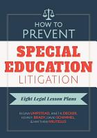 How to Prevent Special Education Litigation PDF