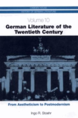 German Literature of the Twentieth Century PDF
