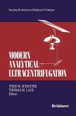 Modern Analytical Ultracentrifugation
