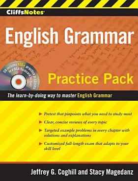 CliffsNotes English Grammar Practice Pack PDF