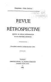 Revue rétrospective: recueil de pièces intéressantes et de citations curieuses, Volume5;Volumes49à60
