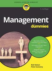 Management für Dummies: Ausgabe 5