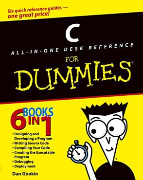 C All in One Desk Reference For Dummies PDF