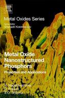 Metal Oxide Nanostructured Phosphors