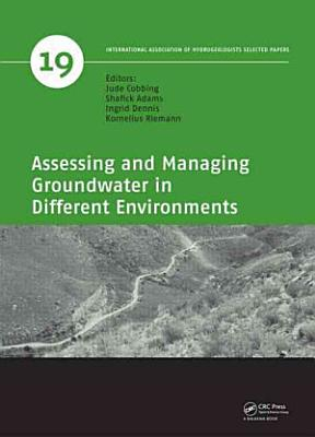 Assessing and Managing Groundwater in Different Environments PDF