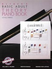 Alfred's Basic Adult Piano Course - Theory Book 3: Learn How to Play Piano with This Esteemed Method