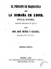 El Príncipe de Maquiavelo, o, La romaña en 1502