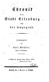 Chronik der Stadt Eilenburg und der Umgebung