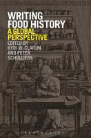 Writing Food History PDF