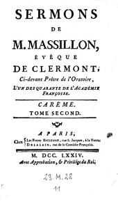 Sermons. - Paris, Freres Estienne 1760-74: Volume2;Volume11