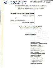 California. Court of Appeal (2nd Appellate District). Records and Briefs: B052077, Respondent Brief