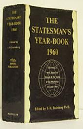 The Statesman's Year-Book: Statistical and Historical Annual of the States of the World for the Year 1960, Edition 97