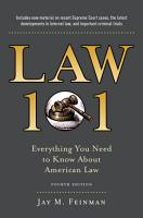 Law 101 PDF