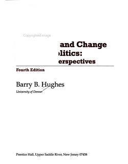 Continuity and Change in World Politics PDF