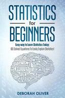 Statistics for Beginners