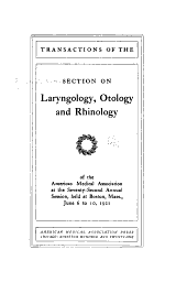 Section on Laryngology, Otology, and Rhinology
