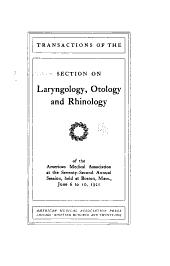 Section on Laryngology, Otology, and Rhinology