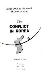 The Conflict in Korea