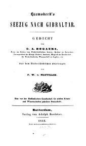 Heemskerk's Seezug nach Gibraltar: Gedicht