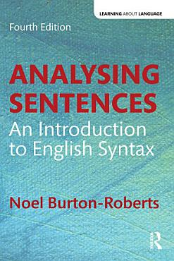 Analysing Sentences PDF