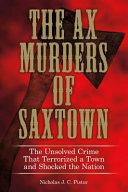 The Ax Murders of Saxtown PDF