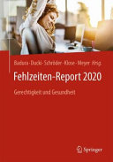 Fehlzeiten Report 2020 PDF