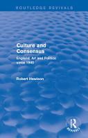 Culture and Consensus  Routledge Revivals  PDF