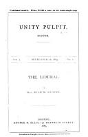 Unity Pulpit PDF