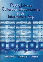 Public Library Collection Development in the Information Age PDF