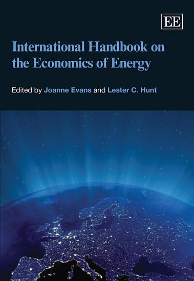 International Handbook on the Economics of Energy PDF
