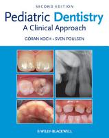 Pediatric Dentistry PDF