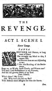 The Revenge. A Tragedy [in Five Acts and in Verse].